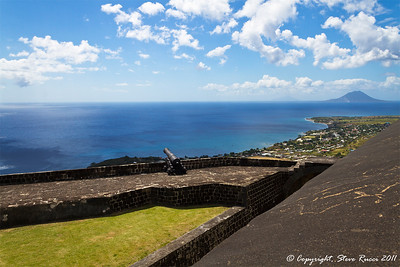 At Brimstone Hill Fortress, St. Kitts