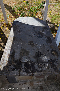 Gravestone of Samuel Jefferson II (Great Great Great Grandfather of Thomas Jefferson)