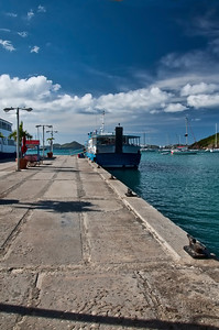 The Ferry from St. John to St. Thomas awaits.