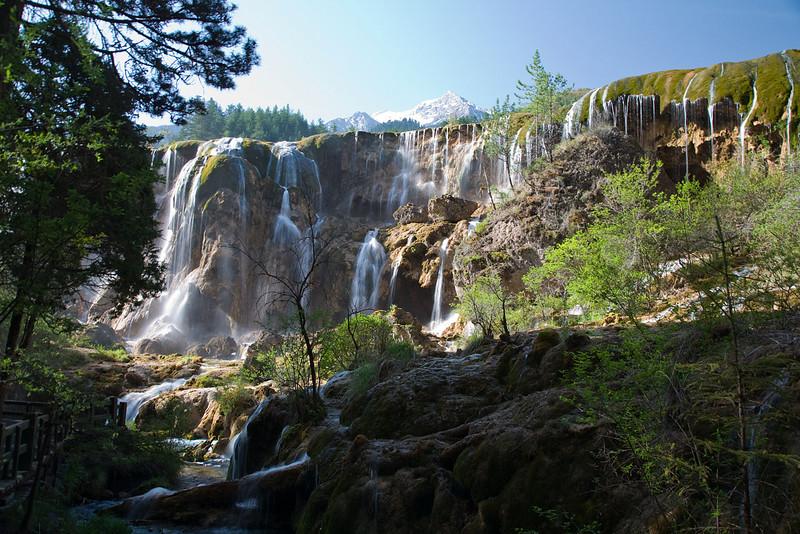 Jouzhaigou Park Day 2 Waterfalls