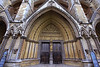 Side entrance to Westminister Abbey.