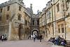 Inside the courtyard of Windsor Castle.