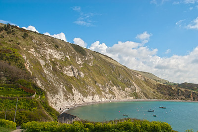 Lulworth Cove, Jurassic Coast World Heritage Site