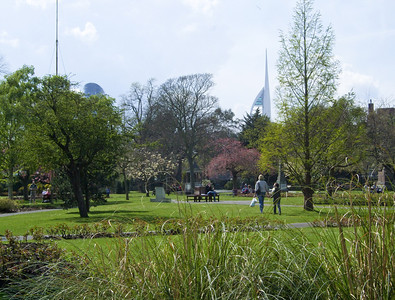 Victoria Park and the Spinnaker Tower