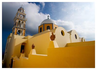 Catholic Church- Santorini, Greece