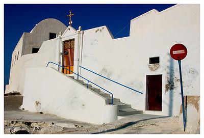 Hiiltop Church- Santorini, Greece