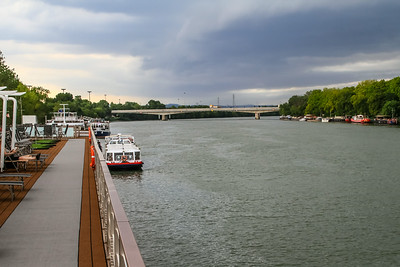 Docked on Rhone River