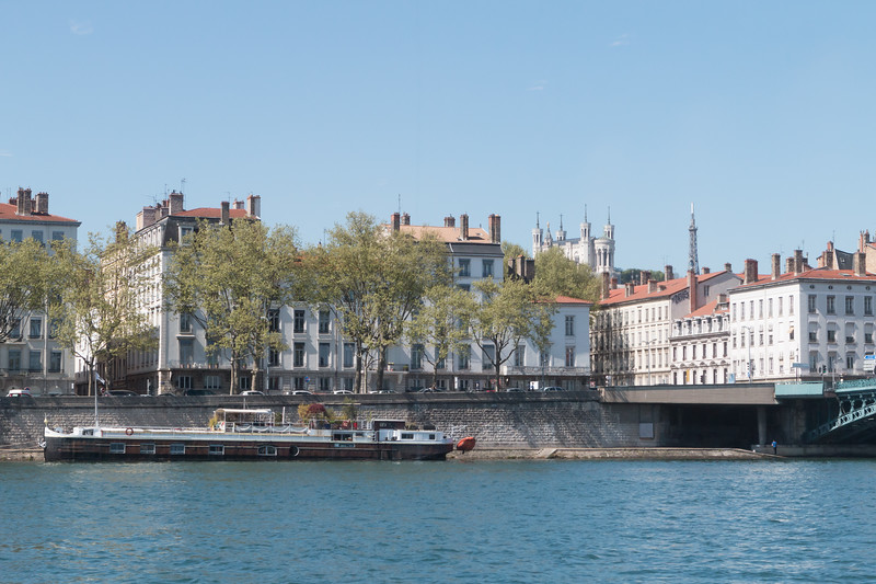 Our view of Lyon was excellent - we had more to learn about what we were seeing.