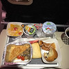 Air France provided food so plentiful and delicious, it was amazing...