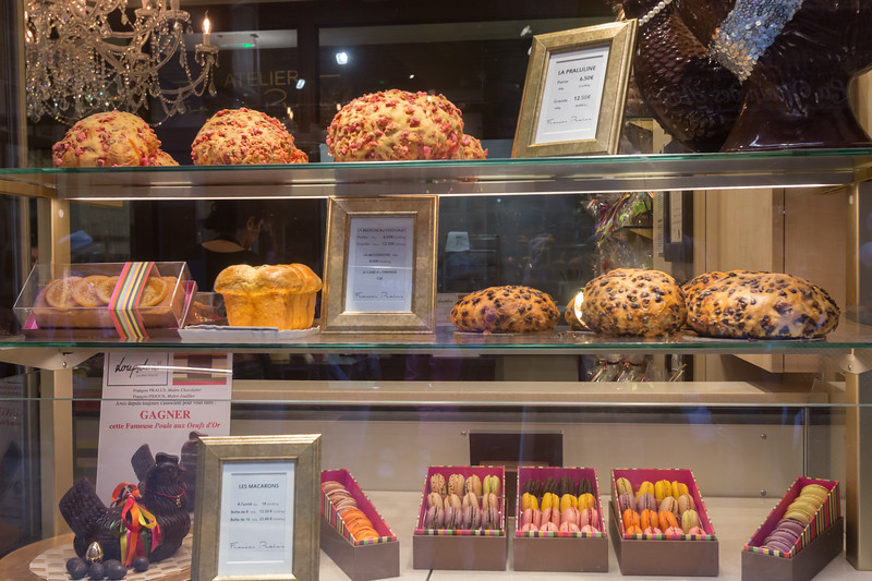 We walked by this bakery and were fascinated by the brioche on display