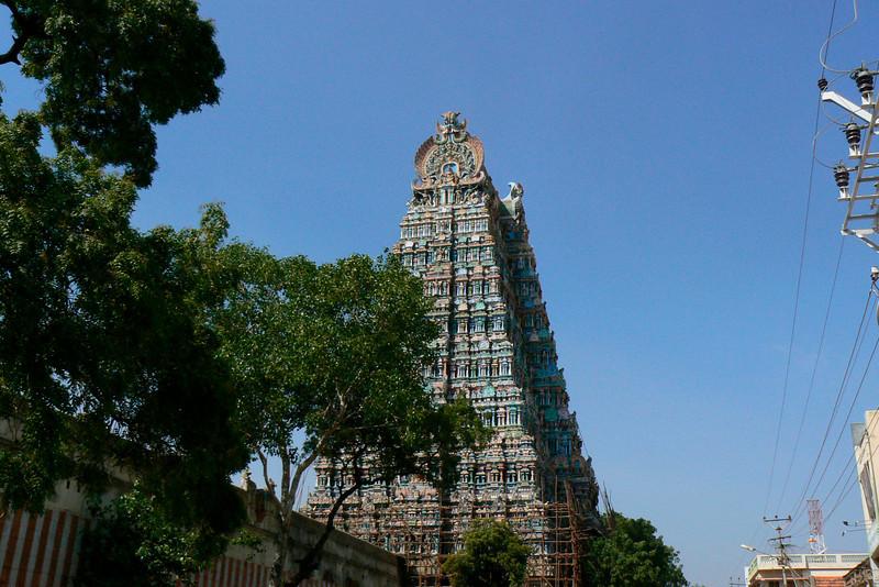 P1020274 Temple Tower Madurai
