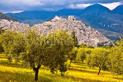 Morano Calabro, a hilltop town in Calabria