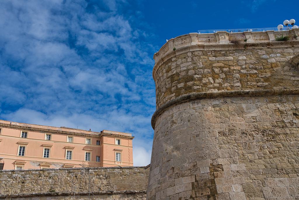 Cagliari Fortress Wall