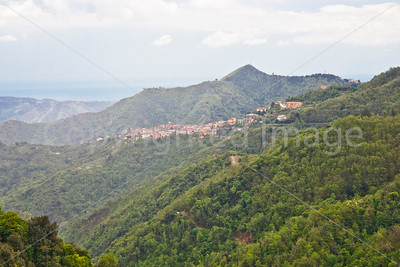 Town in the mountains of Sila National Park