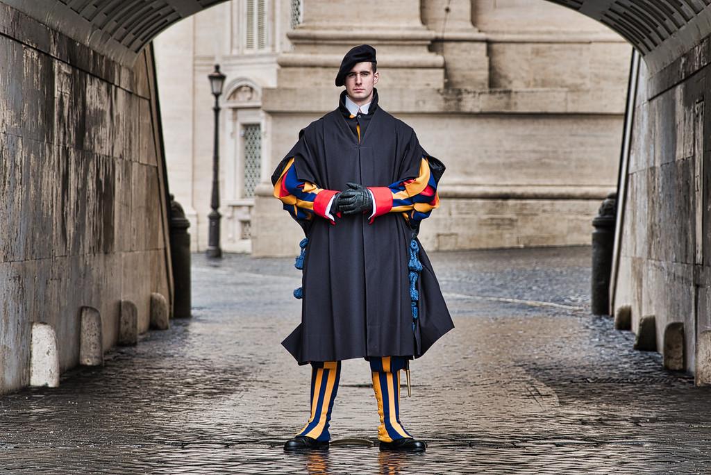 Swiss Guard at Vatican