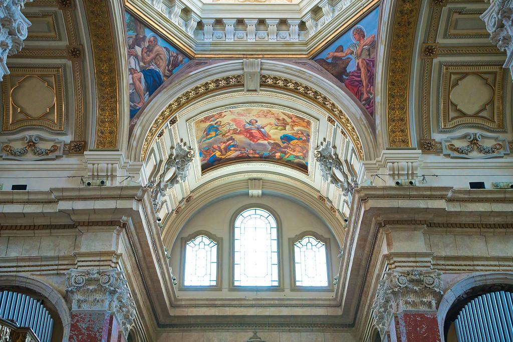 Cagliari Cathedral Interior