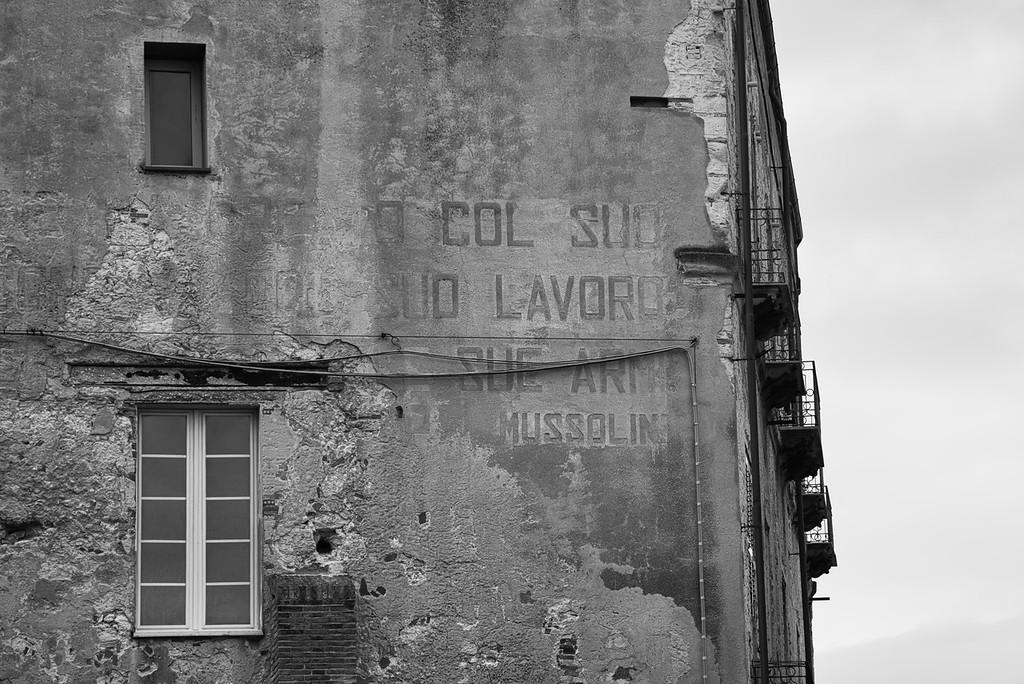 Remnants of Italian Facism