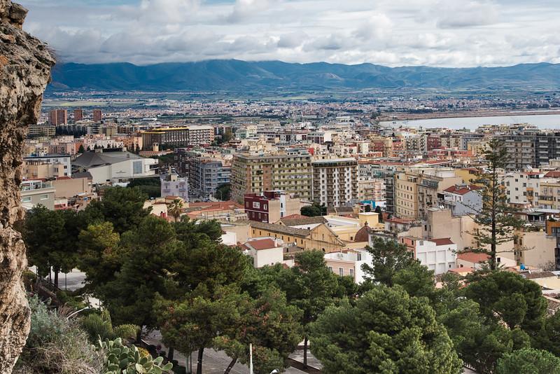 Cagliari, Sardinia Overlook