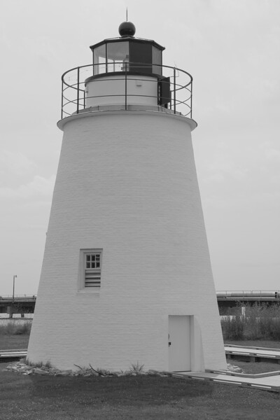 Piney Point Lighthouse, The first light house in the United States