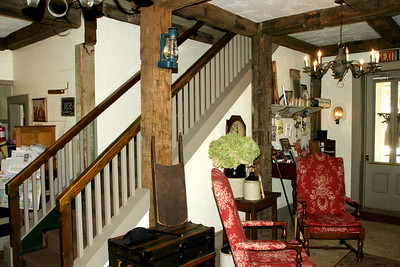 Interior of National House Inn B&B in Marshall, Michigan