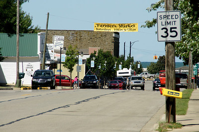Downtown Port Austin, Michigan