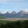 Mountain scene outside Ushuaia.  Andean Condors here.