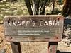 Knapps's Cabin trailhead