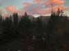 Sunset from the Wuskachi Lodge