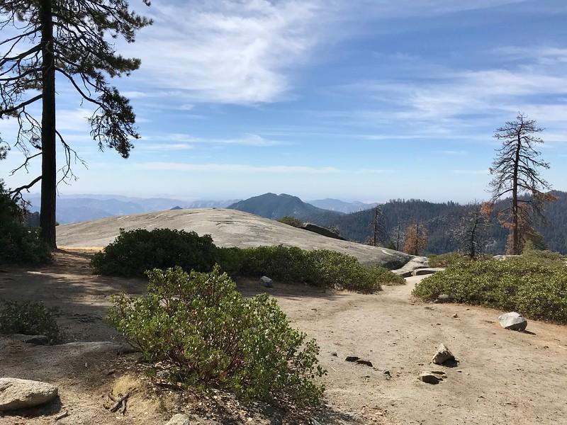 Beetle Rock and western vista