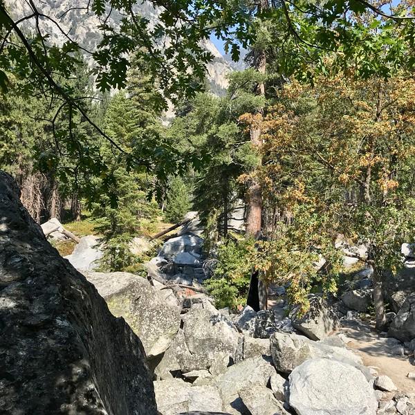 More rocks