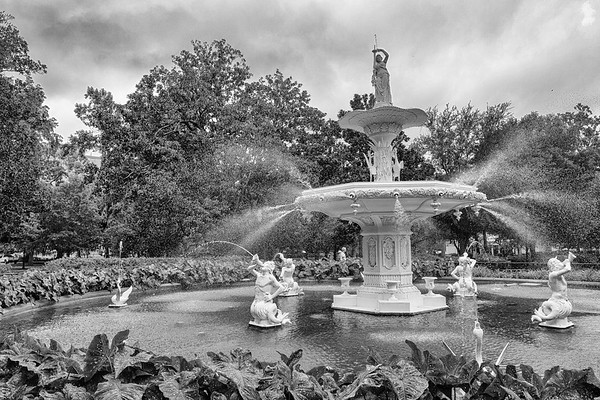 Forsyth Park (the Garden of Good and Evil).