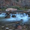 Virgin River Waterfall, Zion National Park