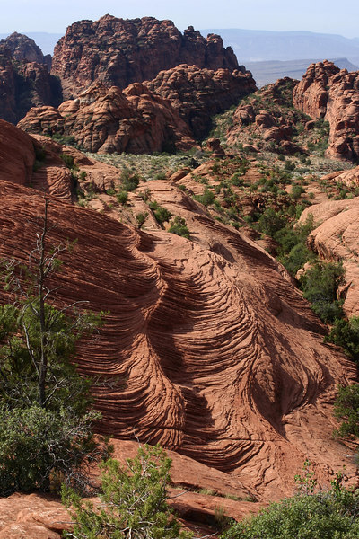 Lava flow in Snow Canyon State Park, Utah