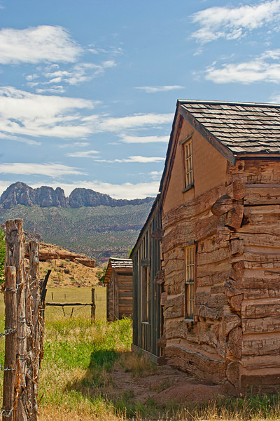 Deserted Grafton Ghost town building