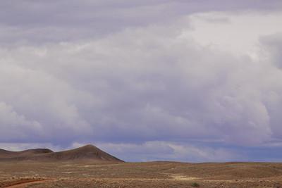 Brewing storm, Utah.
