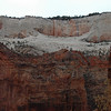 Walls of Zion Canyon.