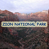 Zion National Park (1919) - Zion Canyon, 15 miles long and up to half a mile deep, cut through the reddish and tan-colored Navajo Sandstone by the North Fork of the Virgin River.