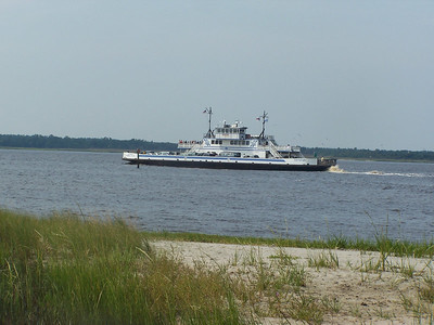 Southport-Fort Fisher, NC Ferry - 9 Sept. '06