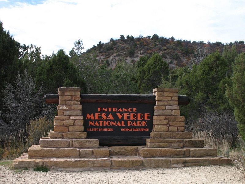 Mesa Verde National Park in SW Colorado