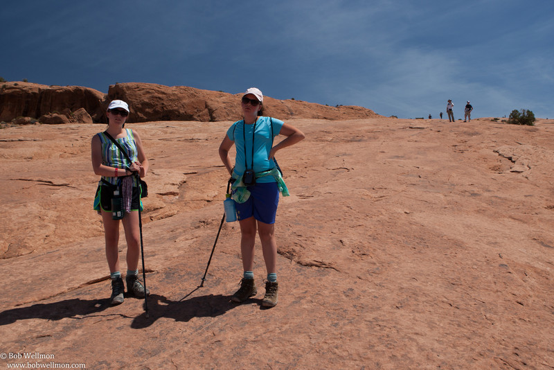 Trail leading to Delicate Arch, Arches National Park, near Moab, UT.