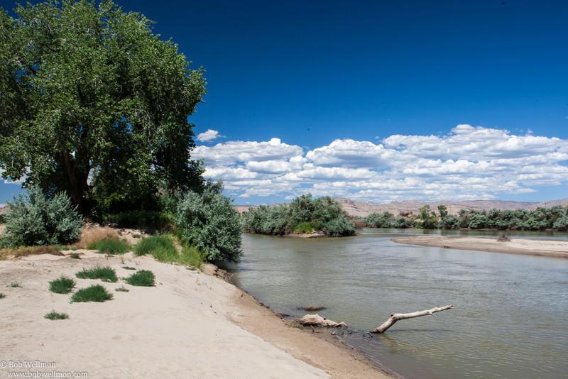 The Green River, Utah.