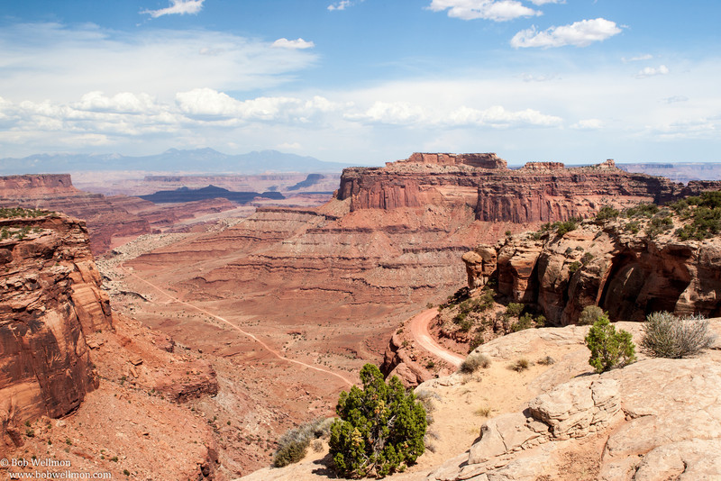 Canyonlands National Park, near Moab, Utah. Island in the Sky District.  Shafer Canyon Overlook.