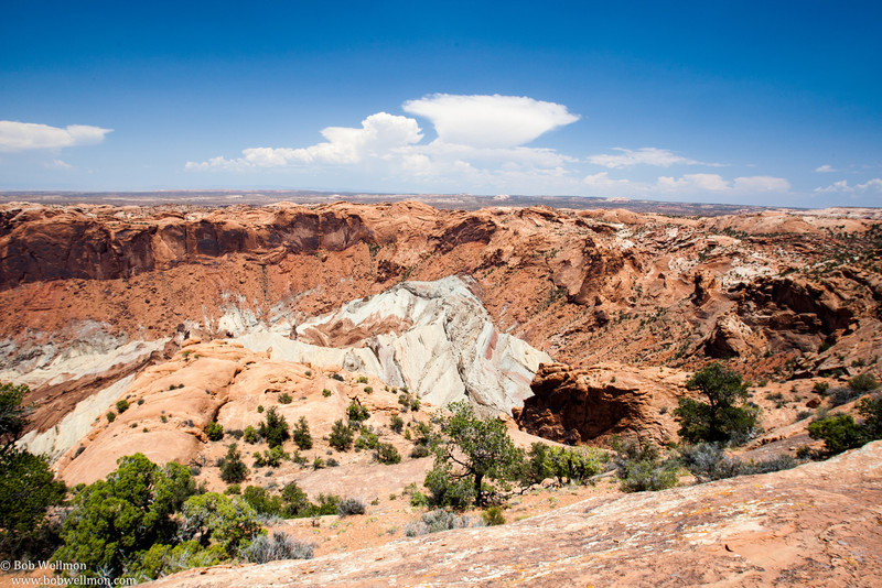 Upheaval Dome, Island in the Sky District, Canyonlands National Park, Utah