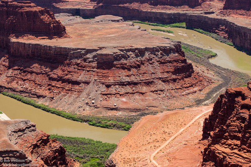 Dead Horse Point State Park near Moab, Utah - Colorado River.