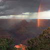 Bright Angel Canyon rainbow