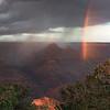 Bright Angel Canyon rainbow