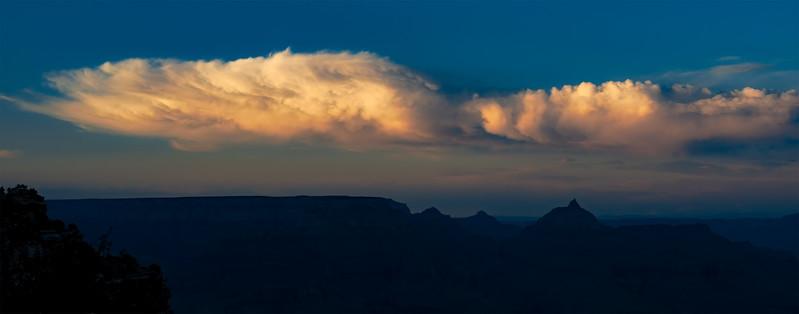 Evening cloud study