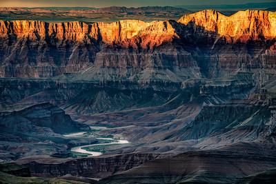 Sunset Navajo Point
