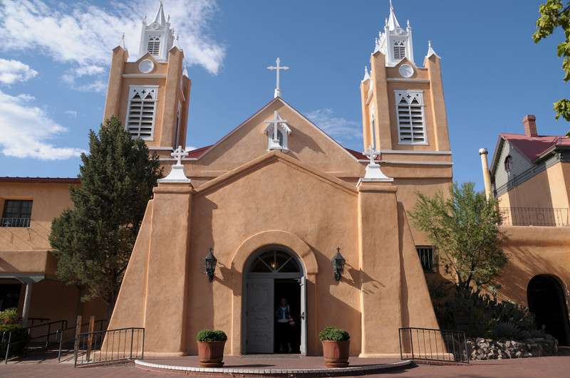 Church in Old Town New Mexico