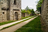 Street scene, Saint-Pastour, small bastide town, 1272, Lot-et-Garonne, Aquitaine, southwest France
